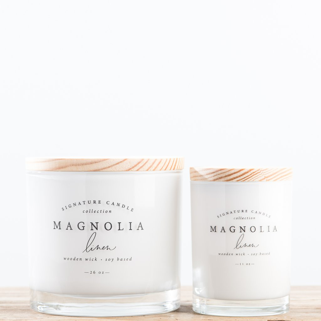 Candles from Magnolia Market and Silos in Waco. | Waco, TX; Birthday Weekend in Magnolia