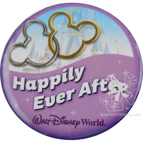 Happily Ever After pin for Walt Disney World.   Celebrating A Wedding Anniversary at Walt Disney World