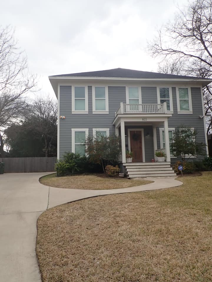 Airbnb house that was featured on show Fixer Upper in Waco. | Waco, TX; Birthday Weekend in Magnolia