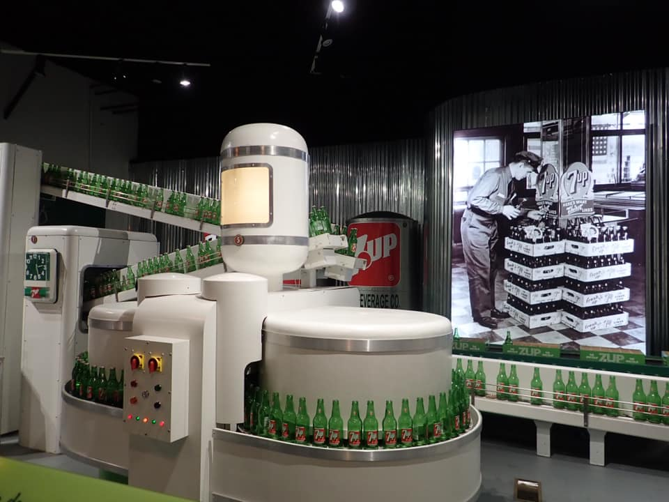 Inside the Dr. Pepper Museum in Waco. | Waco, TX; Birthday Weekend in Magnolia
