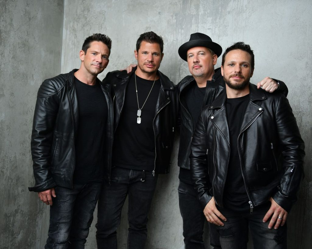 Band picture of the group 98 degrees at the fair. | State Fair of Texas-Dallas