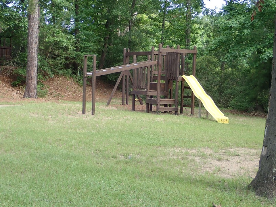 Playground at the lake.| The Retreat at Artesian Lakes in Texas