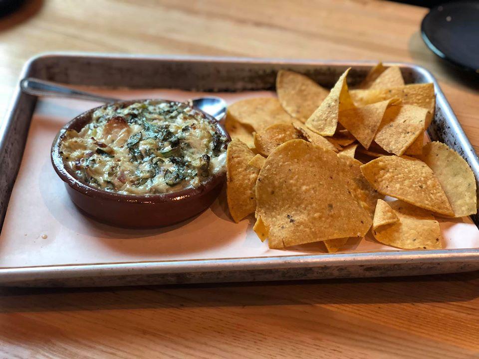 Plate of food at Fielding Wood Grill.   Girls Weekend Getaway- Woodlands, TX