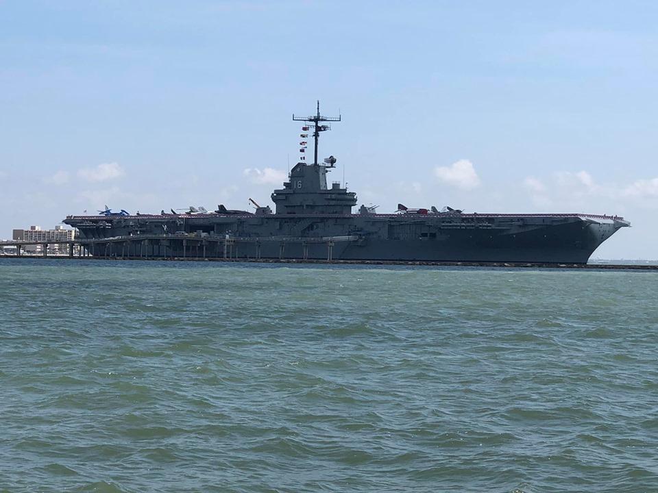 Battleship in Corpus Christi.   Corpus Christi Bachelorette Weekend