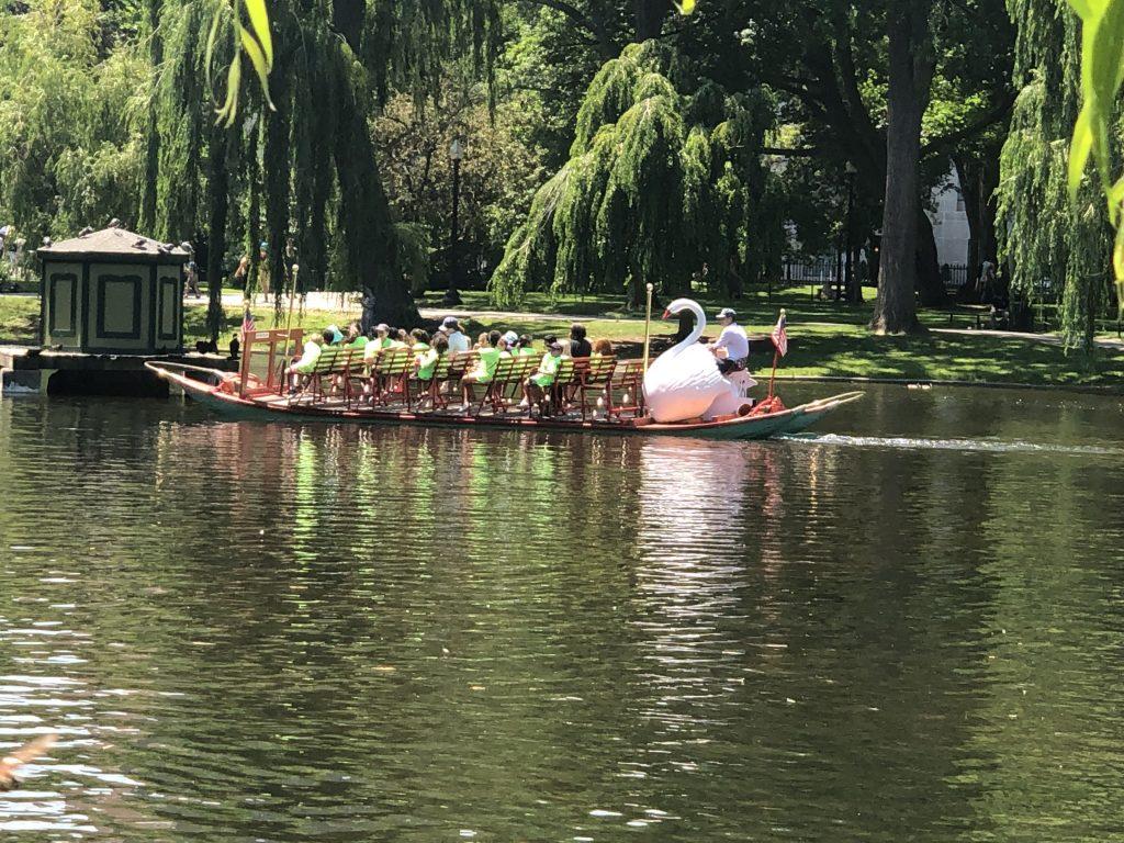 View of Boston Gardens in Boston. | Boston, Massachusetts- Adult Getaway