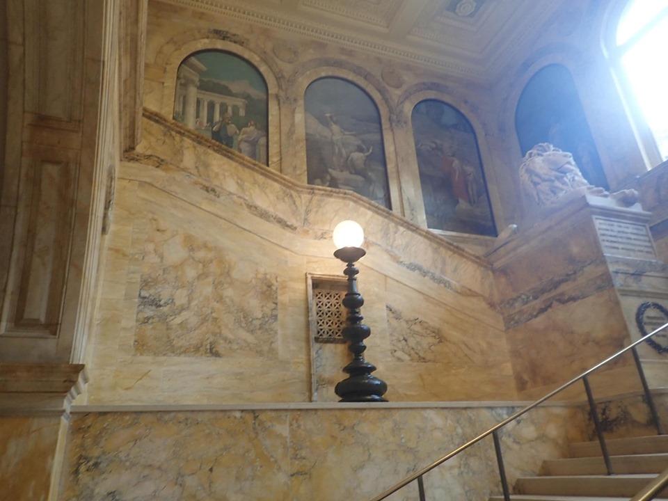 Inside the Boston Public Library in Boston. | Boston, Massachusetts- Adult Getaway