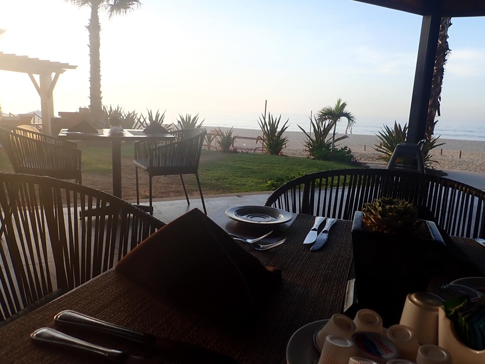 Breakfast outdoor view at Reflect Krystal in Cabo.   Cabo, Mexico- The Best All Inclusive Vacation