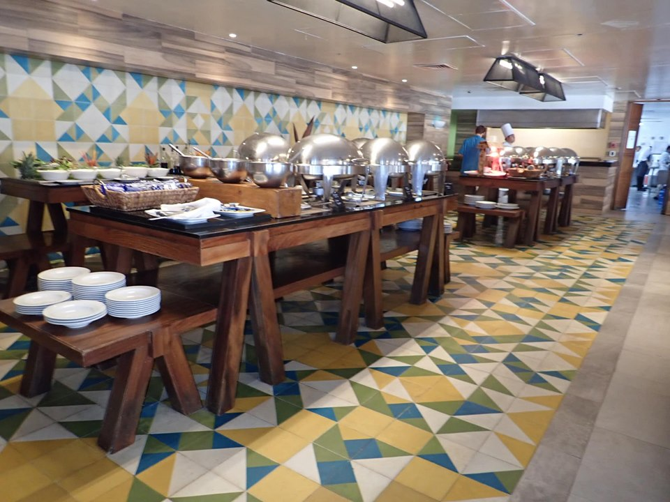 Buffet set up at Reflect Krystal in Cabo.   Cabo, Mexico- The Best All Inclusive Vacation