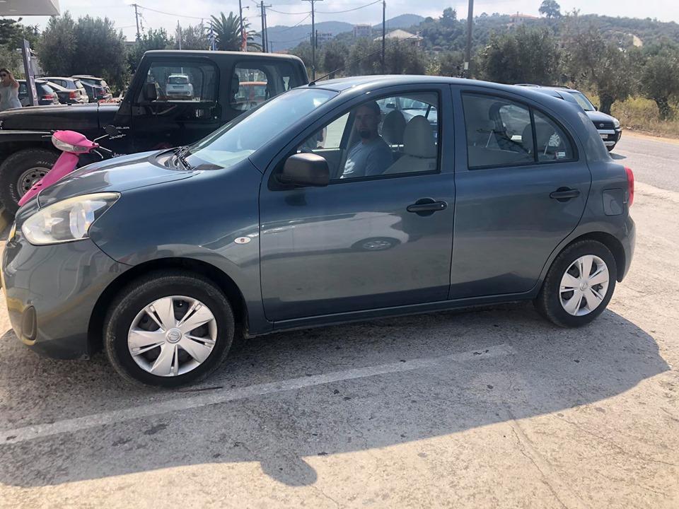 Rental car on Skopelos Island. | Skopelos Island, Greece- Mamma Mia Island