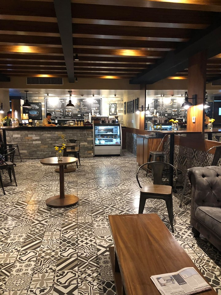 Inside coffee shop at Reflect Krystal in Cabo.   Cabo, Mexico- The Best All Inclusive Vacation
