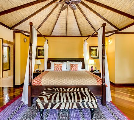 Hotel rooms at the Villas at Nayara Spa and Gardens in La Fortuna.   Costa Rica, Arenal Volcano