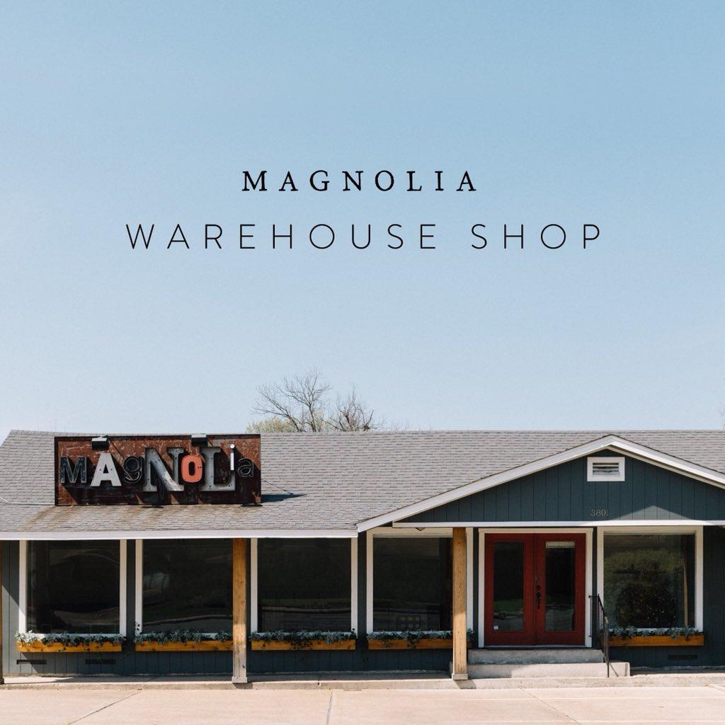 Outside view of Magnolia Warehouse Shop in Waco. | Waco, TX; Birthday Weekend in Magnolia