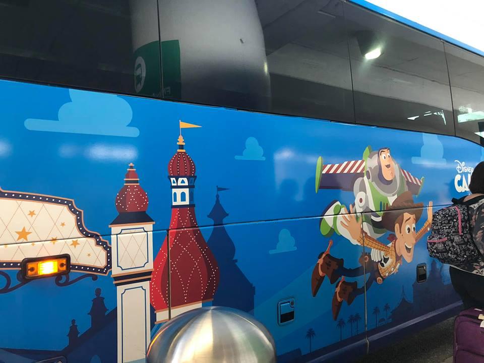 Disneyland bus transportation at Disneyland.   Disneyland Resort Hotels, Anaheim; What you need to know.