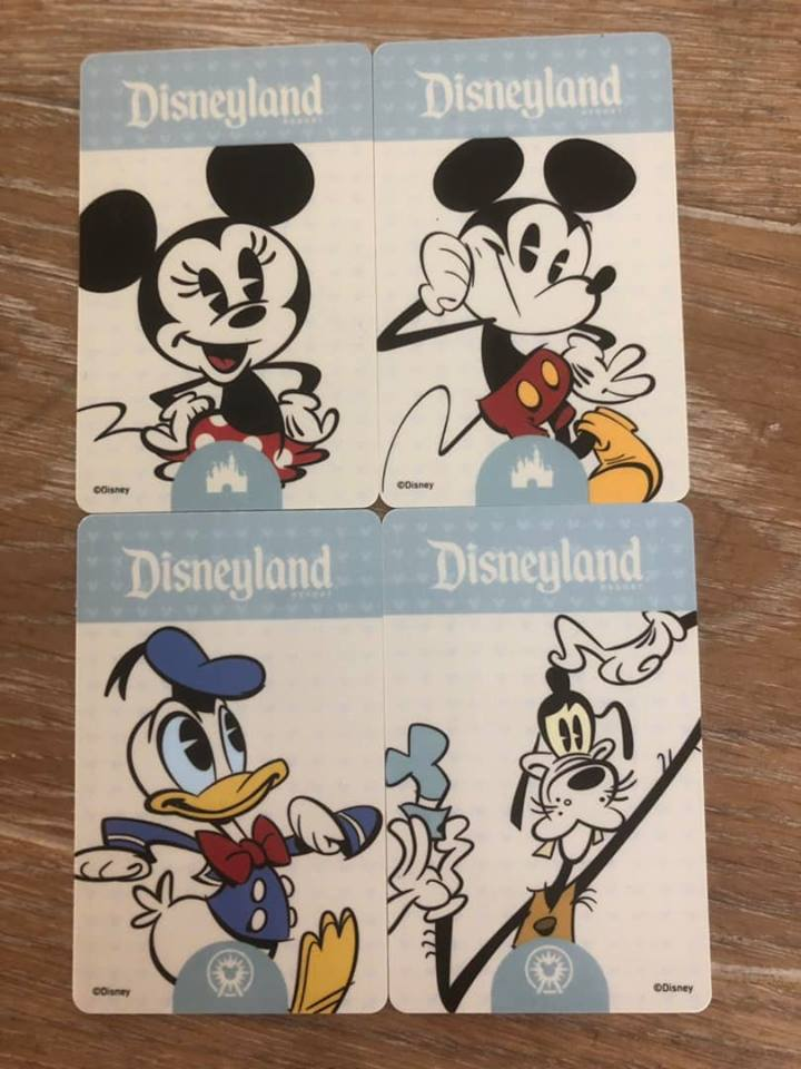 Disneyland cards at Disneyland.   Disneyland Resort Hotels, Anaheim; What you need to know.