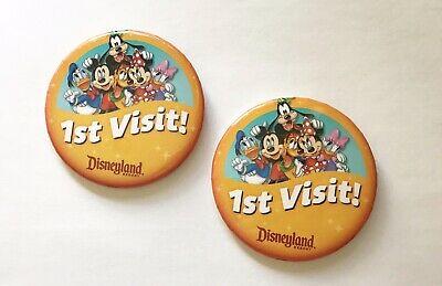 1st visit pins from Disneyland.   Disneyland Resort Hotels, Anaheim; What you need to know.