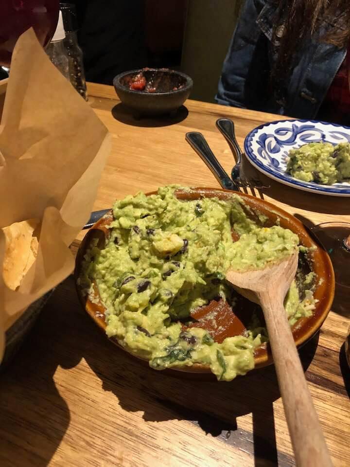 Escalante's Fine Tex-Mex guacamole bowl.   Girls Weekend Getaway- Woodlands, TX