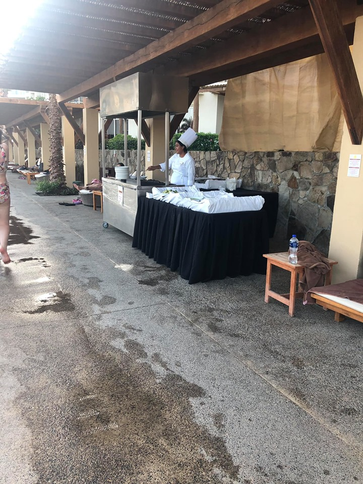 Fajita Stand at Reflect Krystal in Cabo.   Cabo, Mexico- The Best All Inclusive Vacation