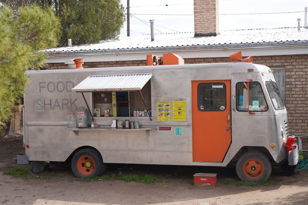 Food Shark Truck in Marfa. | Marfa, Texas- Where to Stay, What to do, & What to Eat