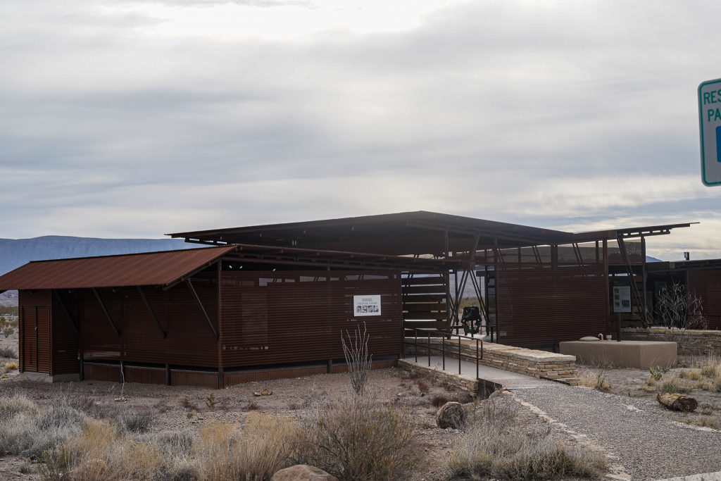 Fossil Discovery Exhibit building at Big Bend. | Big Bend National Park 1-Day Itinerary