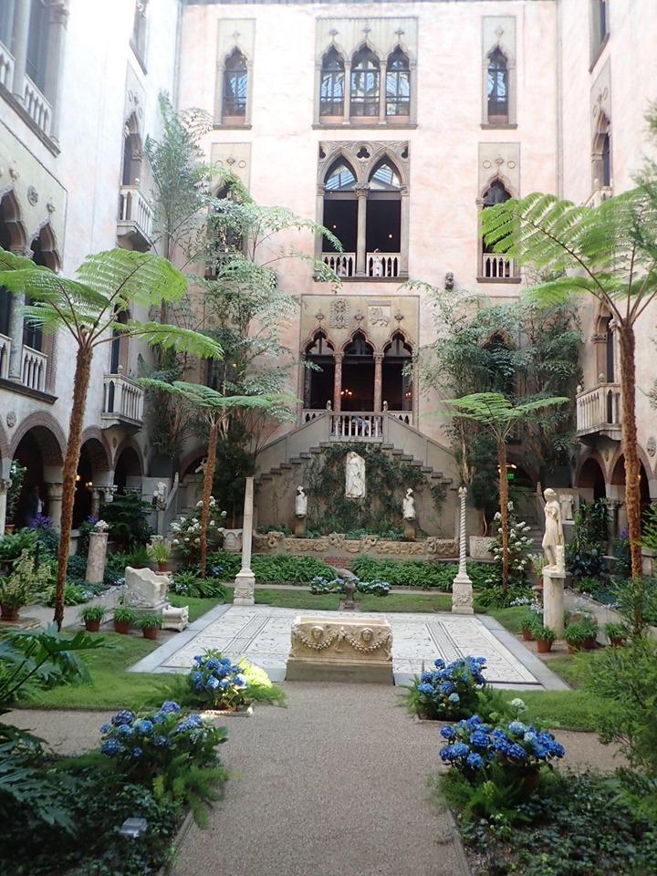 Outside the Isabella Steward Gardner Museum in Boston. | Boston, Massachusetts- Adult Getaway