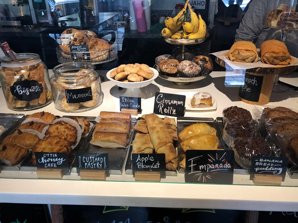 Dessert display at Jaho Coffee and Tea shop in Salem. | What to do in Salem, MA