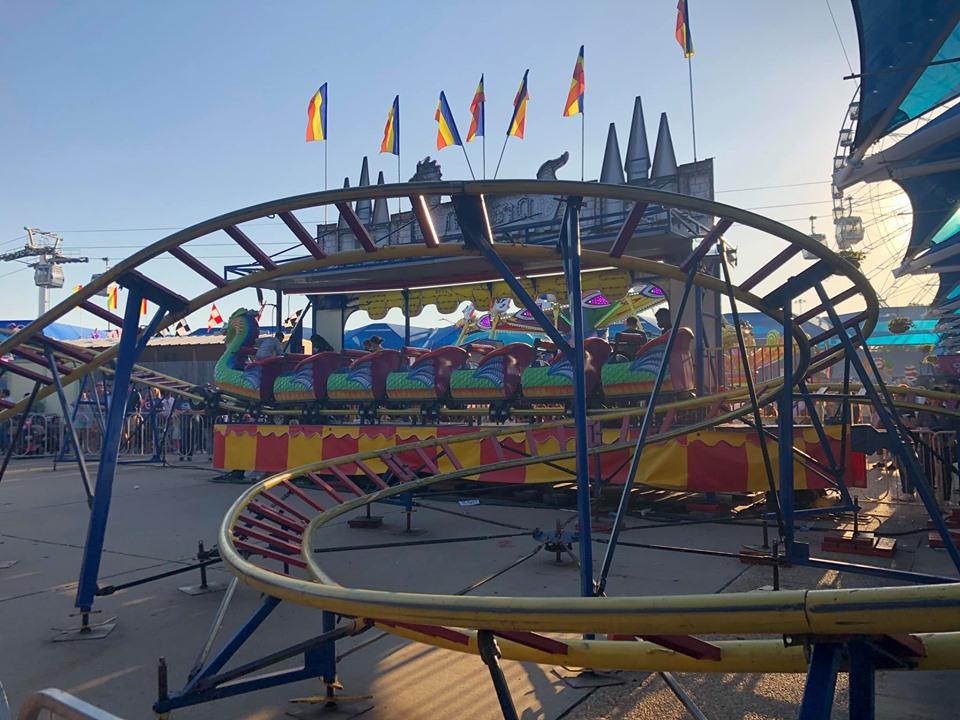 Kid ride section at the fair. | State Fair of Texas-Dallas
