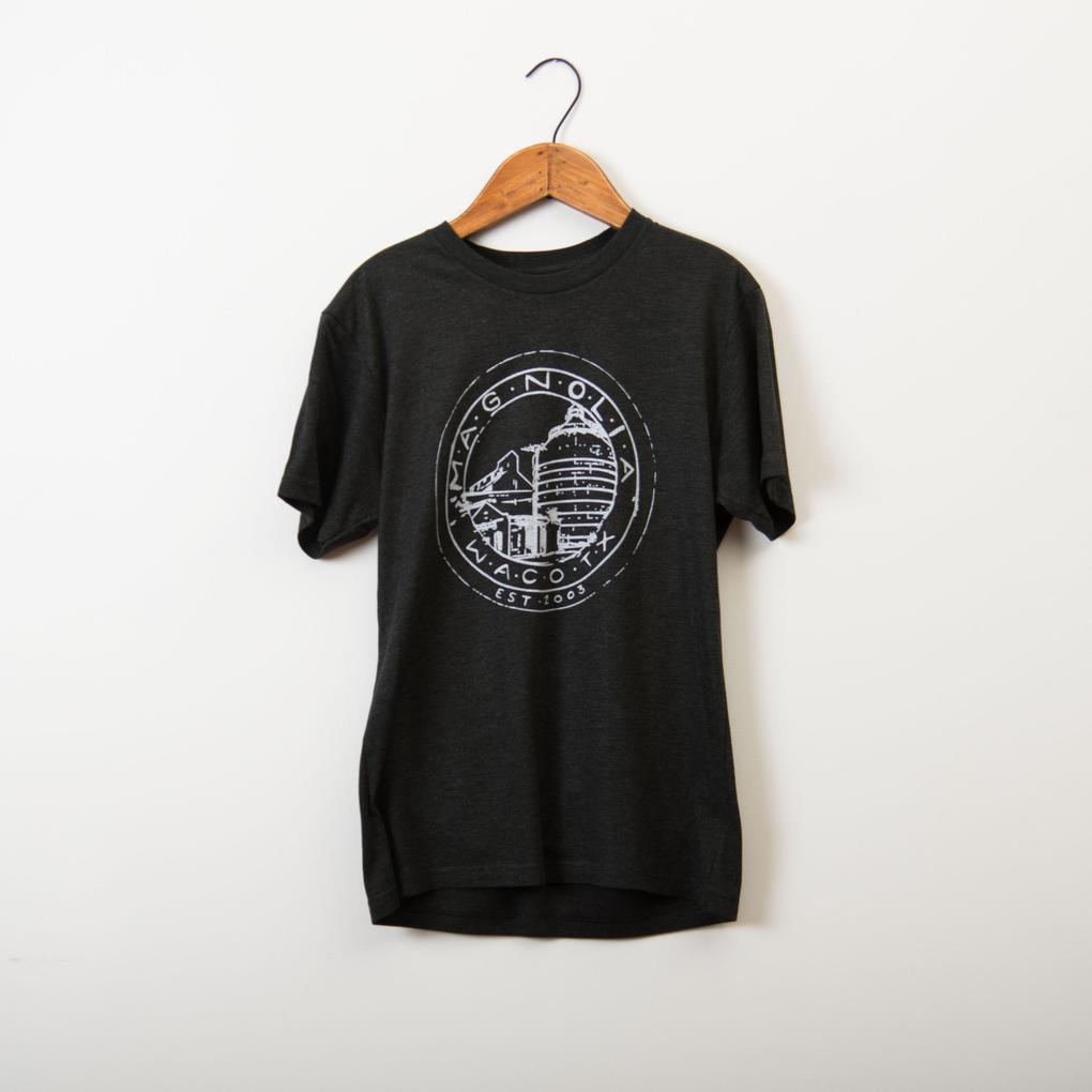 T-shirt from Magnolia Market and Silos in Waco. | Waco, TX; Birthday Weekend in Magnolia