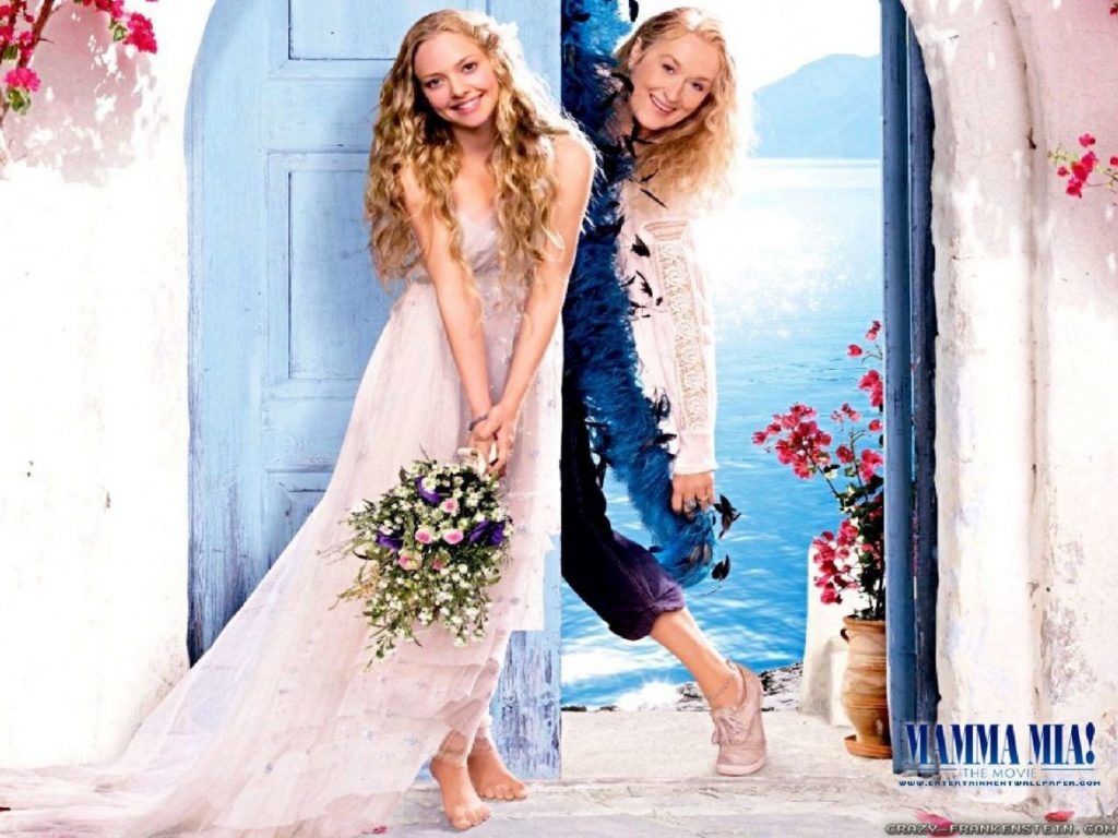 Mamma Mia Movie poster from the chapel on Skopelos Island. | Skopelos Island, Greece- Mamma Mia Island