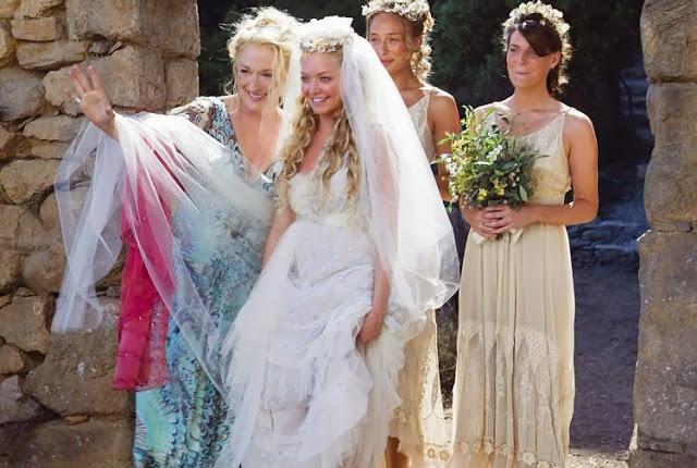 Mamma Mia movie wedding scene. | Skopelos Island, Greece- Mamma Mia Island