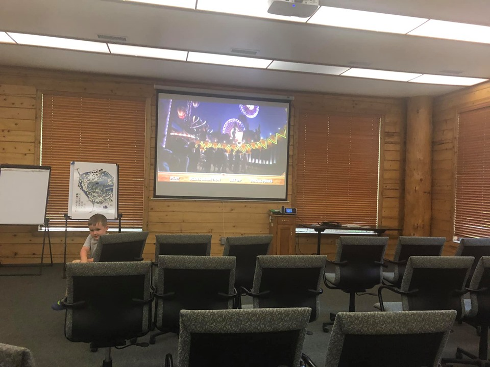 Movie room at the lake.| The Retreat at Artesian Lakes in Texas