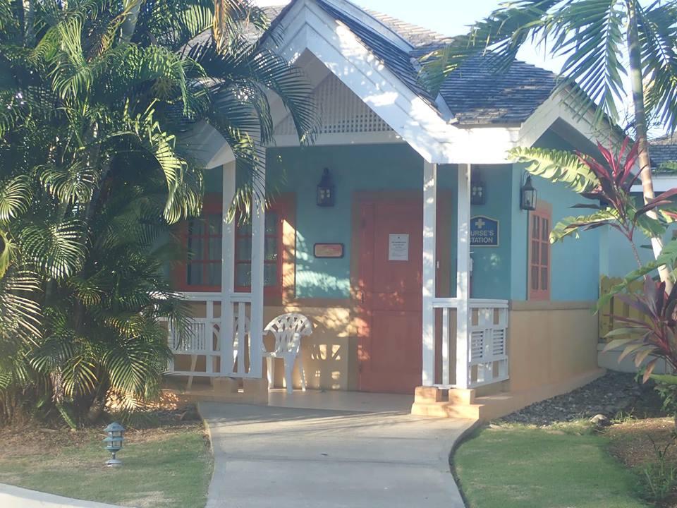 Nurses station at the Sunscape Splash Resort in Montego Bay.| Montego Bay, Jamaica; Sunscape Splash Resort