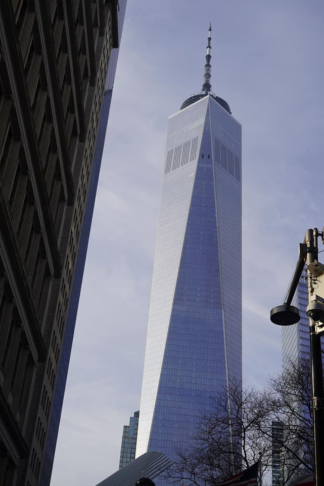 One World Trade Center view.   New York City