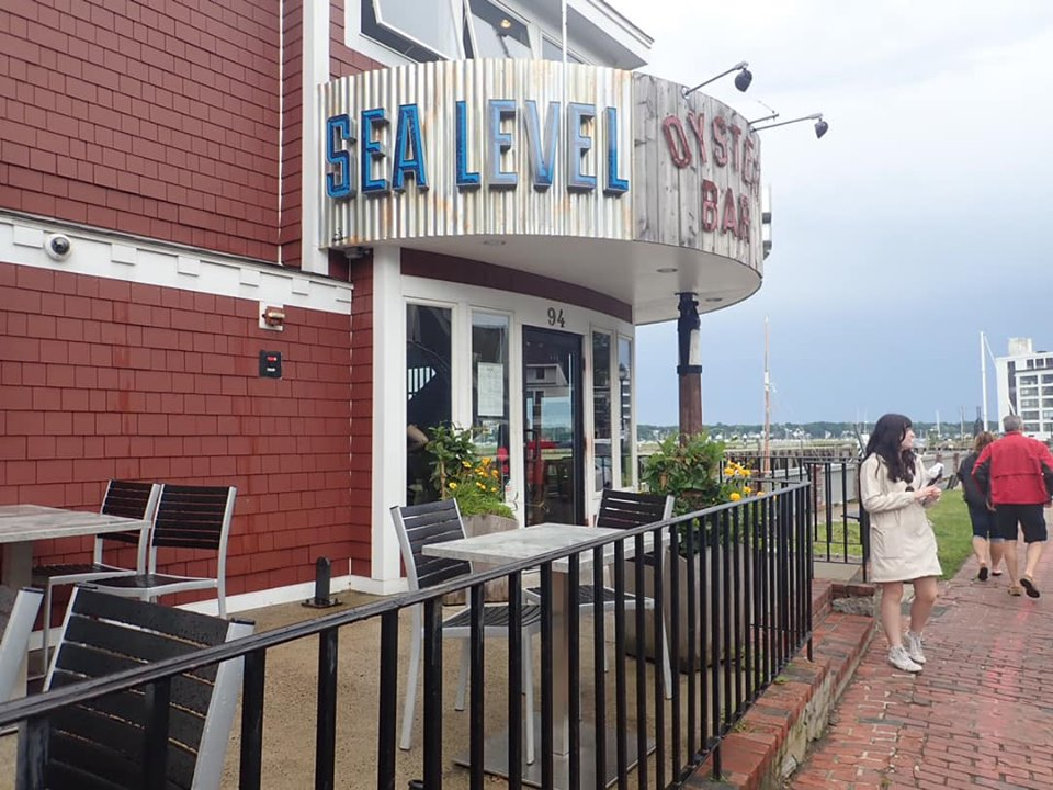 Outside view of the Sea Level Oyster Bar in Salem. | What to do in Salem, MA