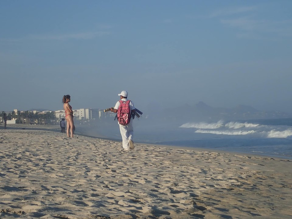 Panhandlers on the beach in Cabo.   Cabo, Mexico- The Best All Inclusive Vacation