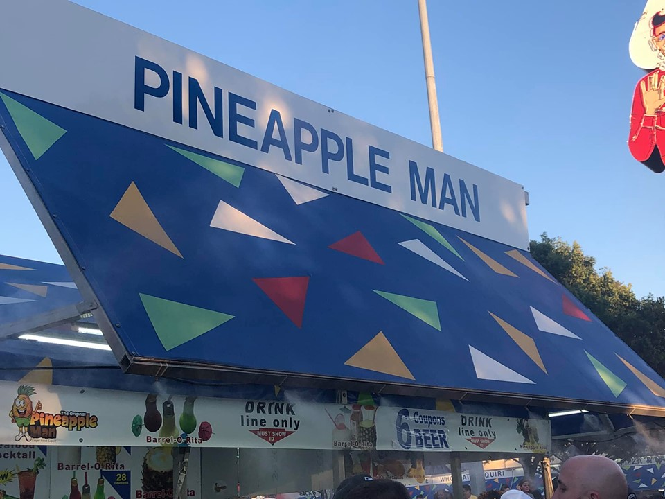 Store front of Pineapple Man at the fair. | State Fair of Texas-Dallas