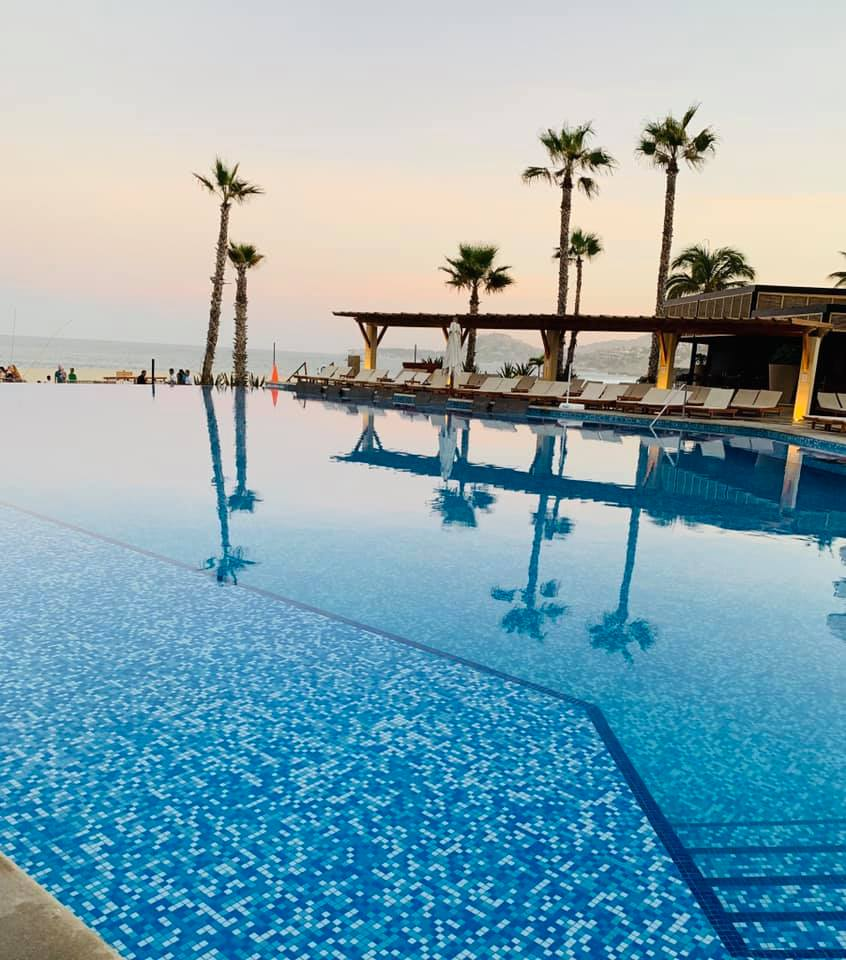 Main swimming pool at Reflect Krystal in Cabo.   Cabo, Mexico- The Best All Inclusive Vacation