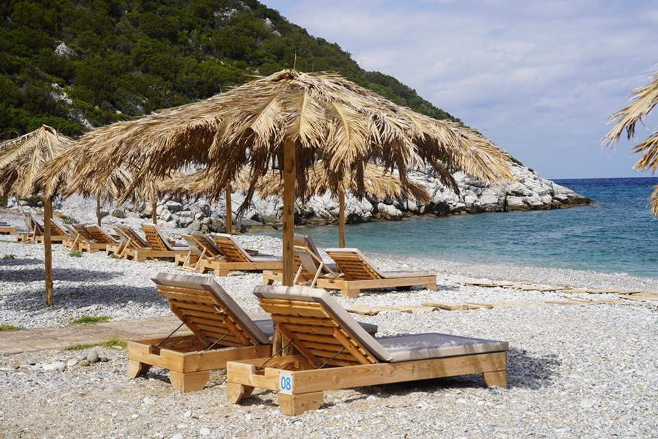 View of Glysteri Beach in Greece.| Skopelos Island, Greece- Mamma Mia Island