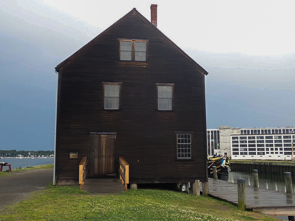 Outside the Salem Maritime National Historic Site in Salem. | What to do in Salem, MA