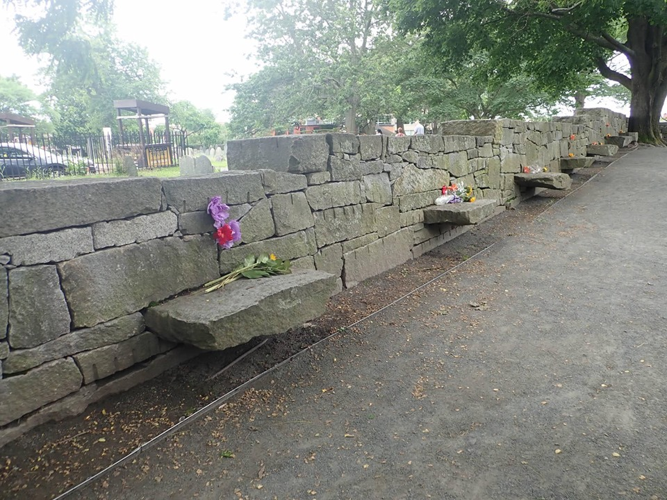 View of Salem Village Witchcraft Victim's Memorial in Salem. | What to do in Salem, MA