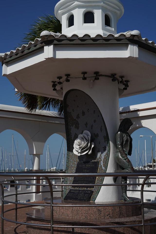 Selena Memorial in Corpus Christi.   Corpus Christi Bachelorette Weekend