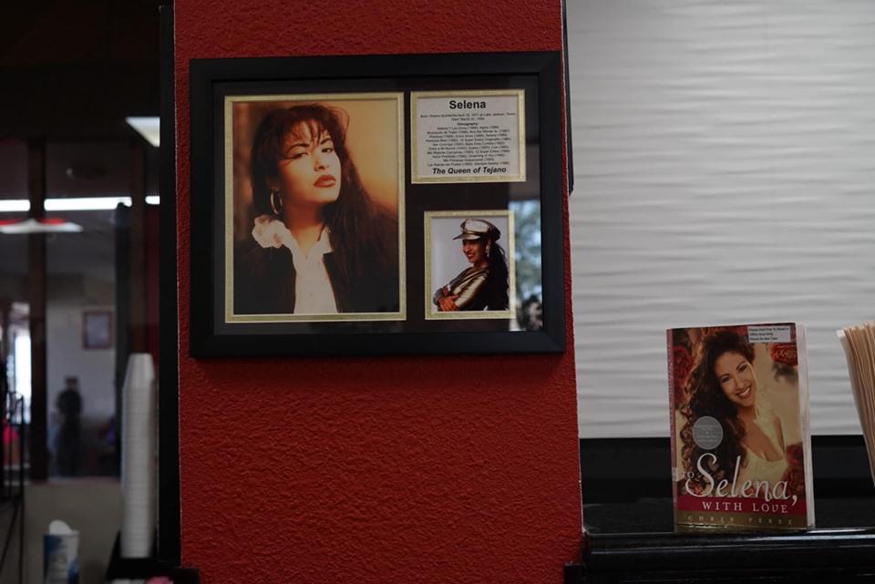 Memorial of Selena at Knights Inn where Selena was shot in Corpus Christi.   Corpus Christi Bachelorette Weekend
