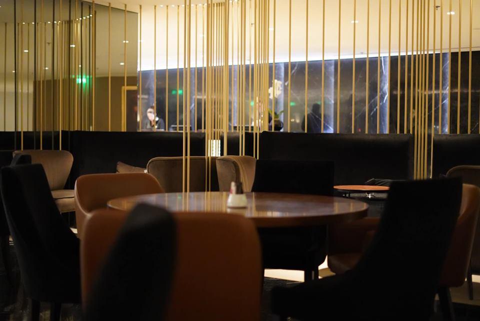 Restaurant at Sofitel Athens Airport Hotel. | Skopelos Island, Greece- Mamma Mia Island