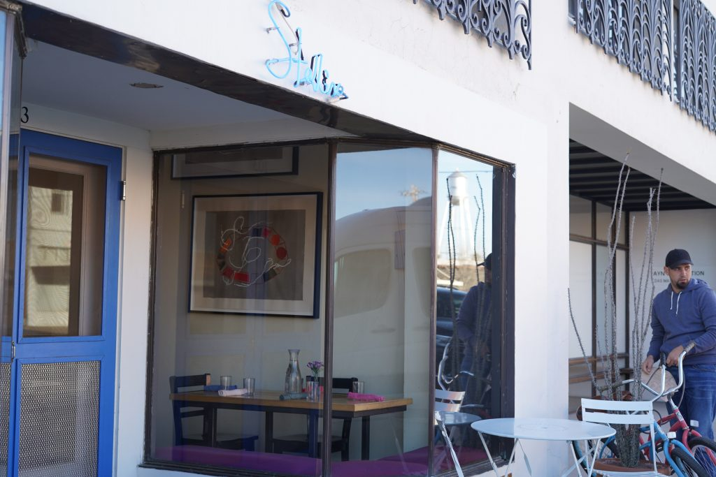Outside Stellina restaurant in Marfa. | Marfa, Texas- Where to Stay, What to do, & What to Eat