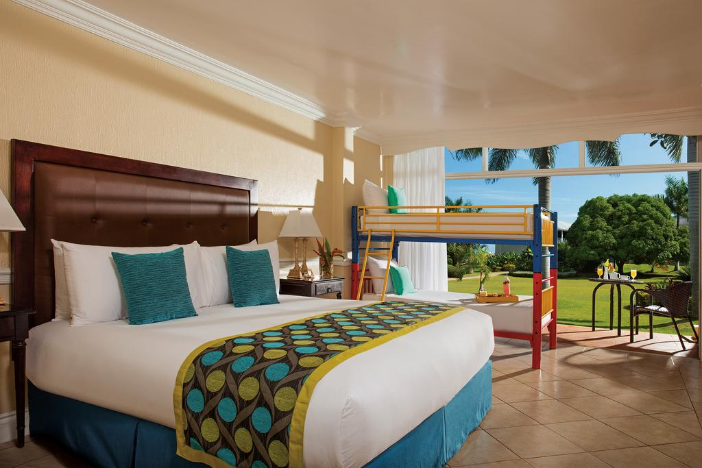 Hotel room at Sunscape Splash Resort in Montego Bay.| Montego Bay, Jamaica; Sunscape Splash Resort