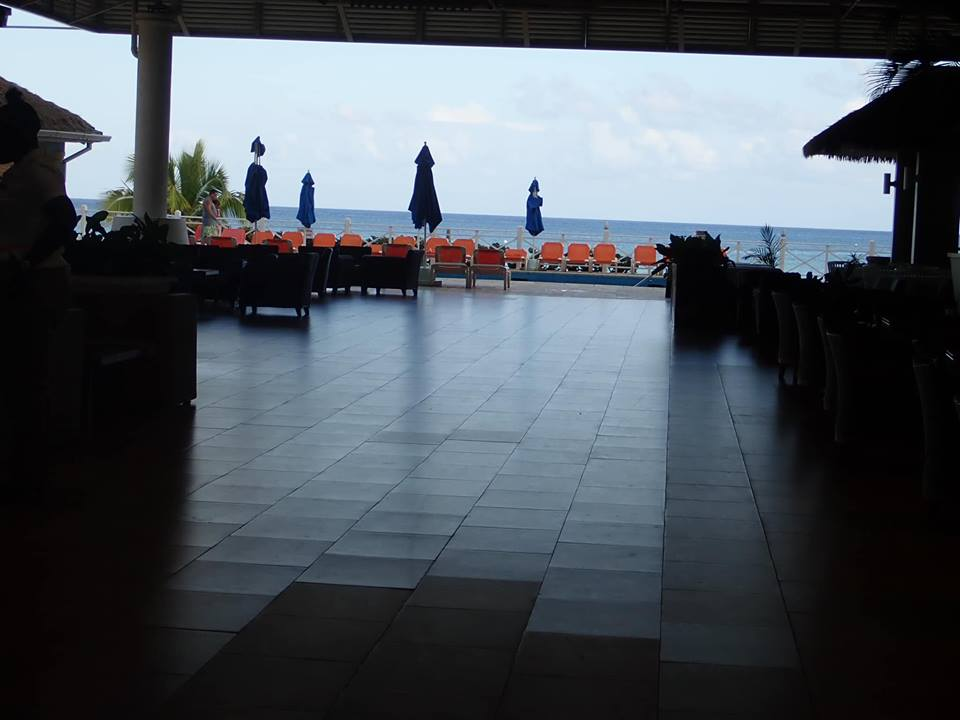 View inside the Sunscape Splash Resort in Montego Bay.| Montego Bay, Jamaica; Sunscape Splash Resort
