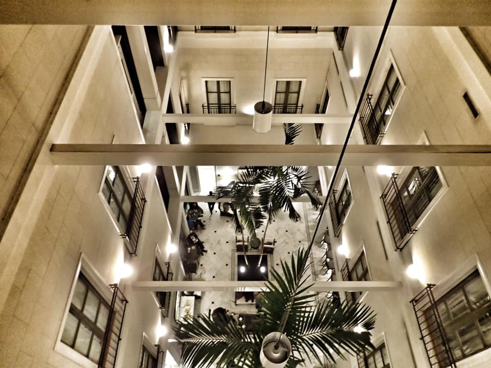 """Inside the Tremont House in Galveston.   Adult Weekend in Galveston, Texas; on """"The Strand"""""""