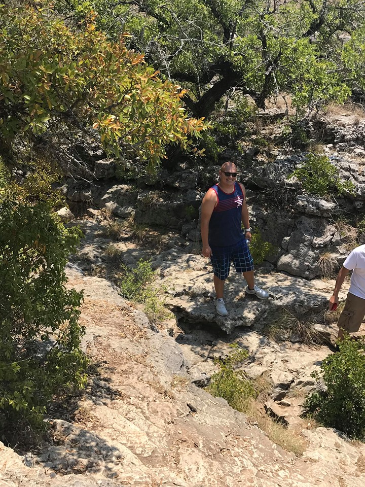 People hiking around Travis County Park in Austin.  Weekend Guide to Austin, Texas