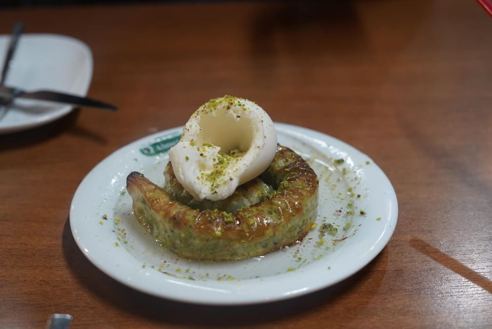 Plate of Baklava, a Turkish dessert. | Istanbul, Turkey