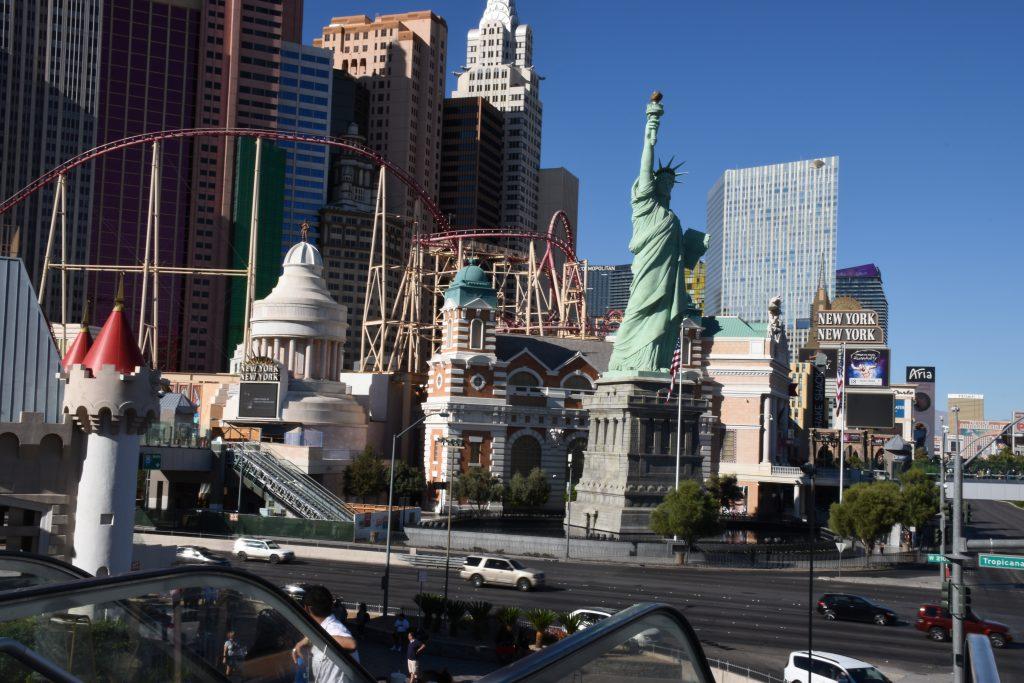 View of Viva Las Vegas street strip.| Las Vegas- A Guide to Vegas