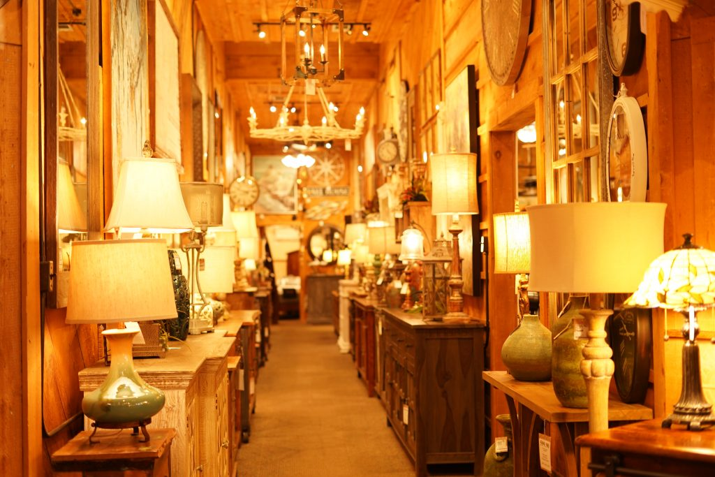 Inside the Wagon Yard store.   A Guide to Granbury, Texas